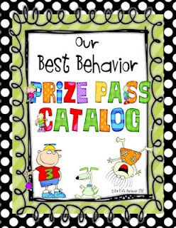 No more prize box! Prize Pass Catalog with dots border! {FREEBIE}
