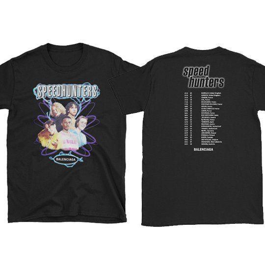 Speedhunters shirt FRONT \u0026 BACK