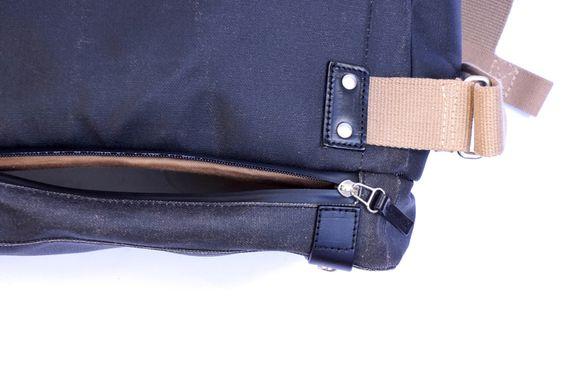 Brooks England Pickwick I Roll Top Bag I Cycling Bag I Rucksack I wasserabweisende Baumwolle I Details