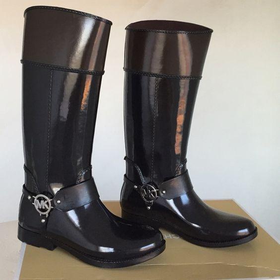 Brand new Michael Kors rain boots NWT | Michael o'keefe, Michael ...