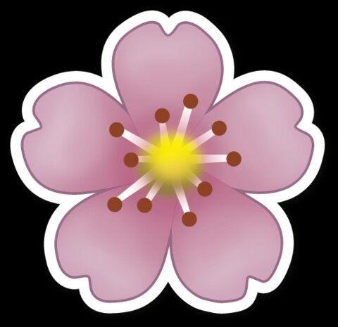 Flower | WhatsApp ~ emoji ~ emoticons ~ ClipArt | Pinterest | Flower
