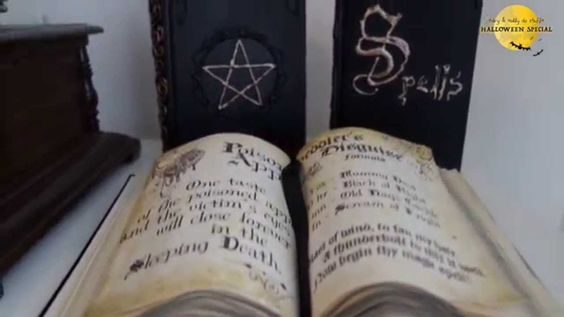 DIY Spell Books Tutorial with free printable pages
