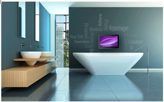 13 Best images about Badkamer TV on Pinterest   TVs, Watches and LED