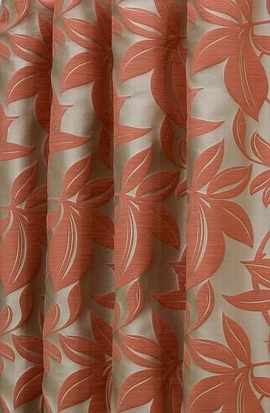 Viganello Burnt Orange Made to Measure Curtains … | Pinteres…