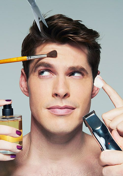 How one man's lok changed forever after applying makeup for men.  http://www.allure.com/beauty-trends/blogs/daily-beauty-reporter/2016/02/men-wearing-makeup.html