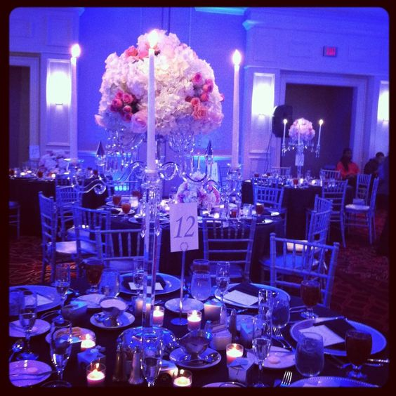 Crystal Candelabra by Agape Flowers and Events #wedding #planning #events #flower #floral #decor #design #ideas #ilovemyjob #miami #florida #southflorida