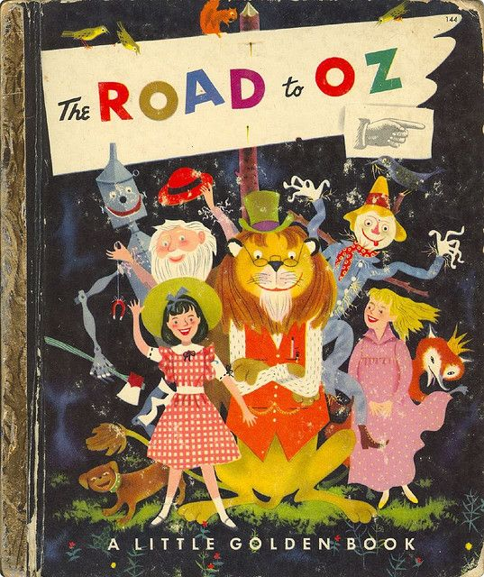 The Road to Oz - Little Golden Book: