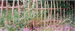 simple rustic fences