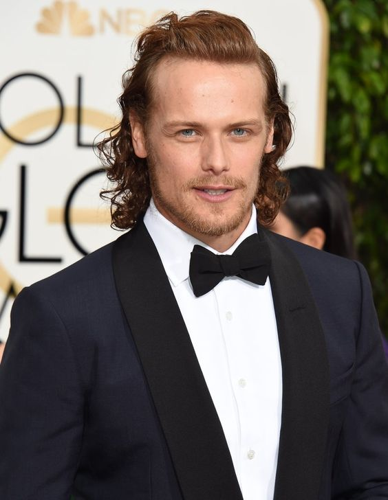 The Cast of Outlander on Golden Globes Red Carpet | POPSUGAR Celebrity