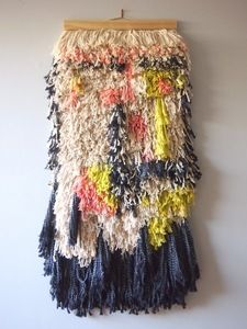 Wall Hangings | Shag Tassel Wall Hanging | Ouchflower Shop love this hanging, so thick.....unexpected colors