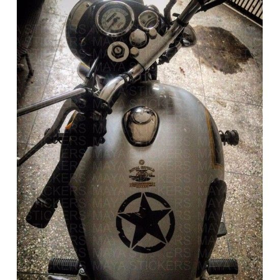 Best Royal Enfield Classic Stickering Images On - Classic motorcycle custom stickers