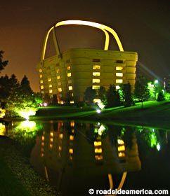 Basket building is in newark oh home office 1500 east Longaberger basket building for sale