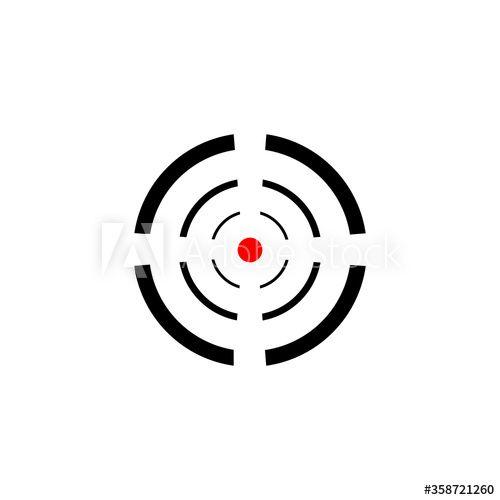 Best Target Icon In Trendy Flat Design Ad Icon Target Trendy Design Flat Trendy Flats Flat Design Design