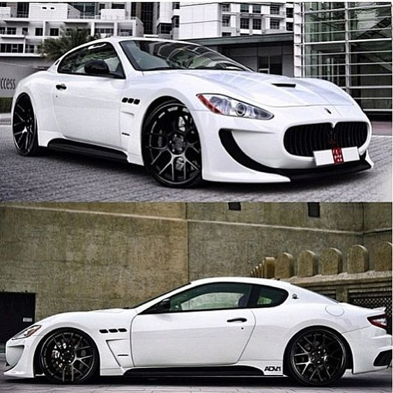 Mean Maserati. Anyone know the model?