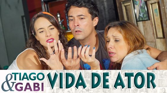 ATORES NO YOUTUBE - Tiago e Gabi