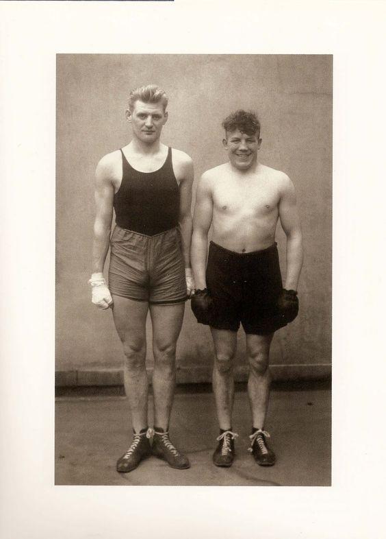 August Sander, Boxeurs, 1929