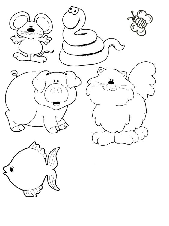 felt coloring pages animals 4 felt boards coloring pages pinterest