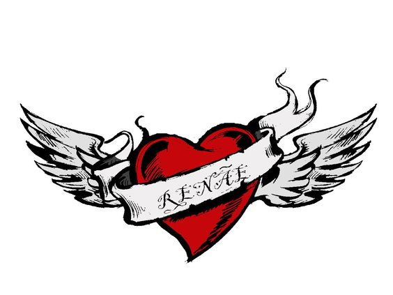 Heart With Wings Heart With Wings Tattoo Broken Heart Tattoo Designs Sacred Heart Tattoos