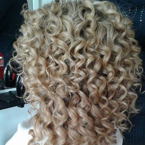 Sweet Spiral Perm Short Permed Hair Long Hair Perm Spiral Perm