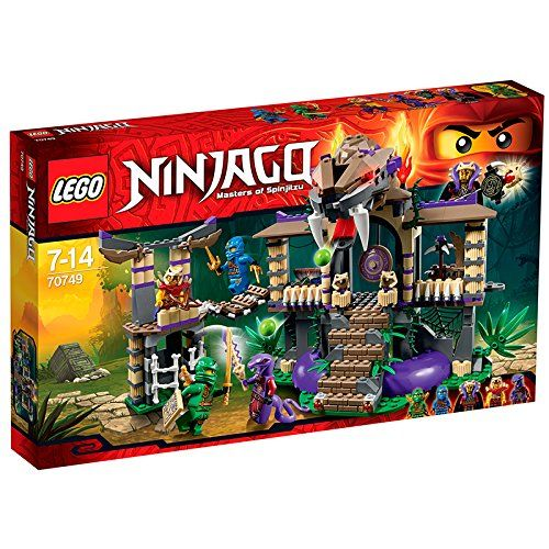 Lego Ninjago 70749 - Tempel der Anacondrai: Amazon.de: Spielzeug