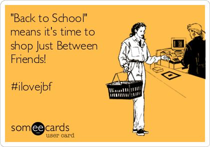 Back to school ecard #ilovejbf