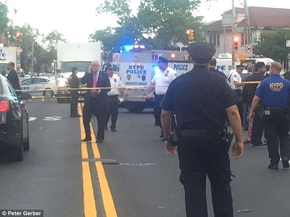 NEW YORK... Brooklyn burglary suspect is shot dead by police officers | Daily Mail Online