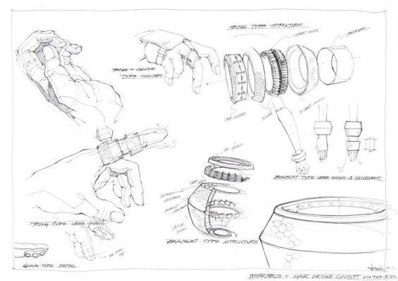 Black and White idea Sketch 2010 by DOTTI , via Behance