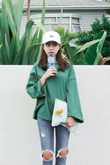 Due Day Tee | Korean Fashion: