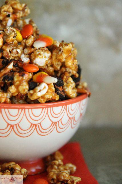 Halloween Caramel Corn by Heather Christo