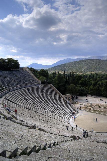 Teatro de Epidauro, Argólida, Grecia
