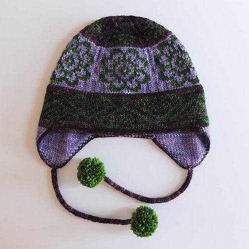 Ravelry Earflap Hat Pattern Generator Pattern By Lucia Liljegren Hat Pattern Hand Knitting Hat Knitting Patterns