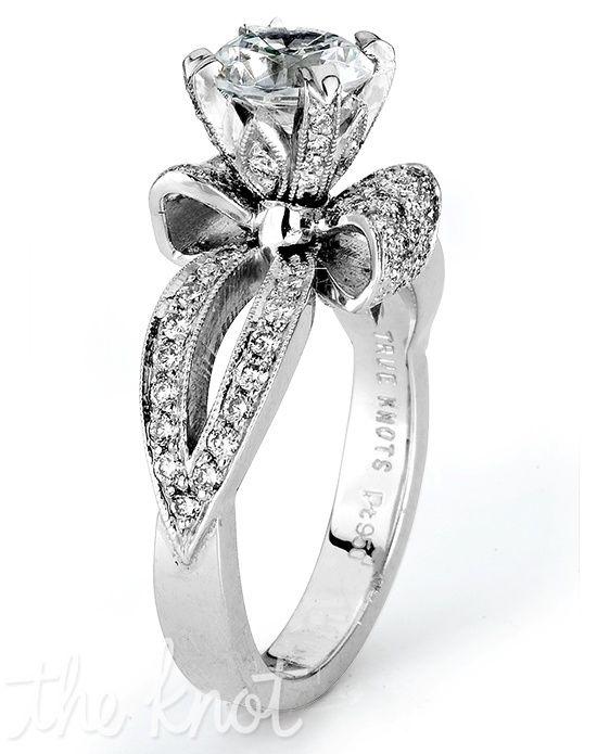 Ring Bow Il Gioiello Personalizzabile Con La Tua Nailart: 1000+ Ideas About Bow Engagement Rings On Pinterest