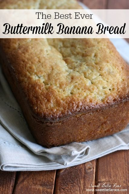 Buttermilk Banana Bread Recipe Buttermilk Banana Bread Buttermilk Recipes Banana Nut Bread