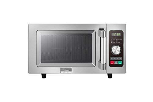 Midea 1025f2a Light Duty Commercial Microwave 1000w With Dial