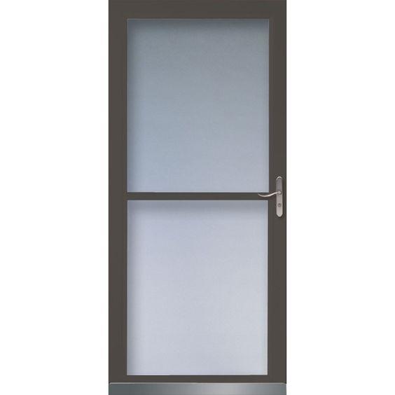 Canada side door and doors on pinterest for Invisible screen door canada