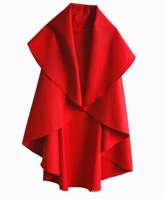 Women's Fashion Long Wool Winter Coats Noble Elegant Cape Shawl Poncho Wrap Scarves Spring Autumn Ladies Trench Coat