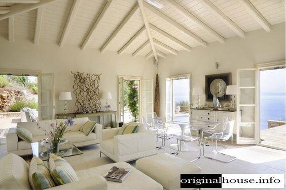 Nos gusta el blanco con ciertos toques decorativos naturales.