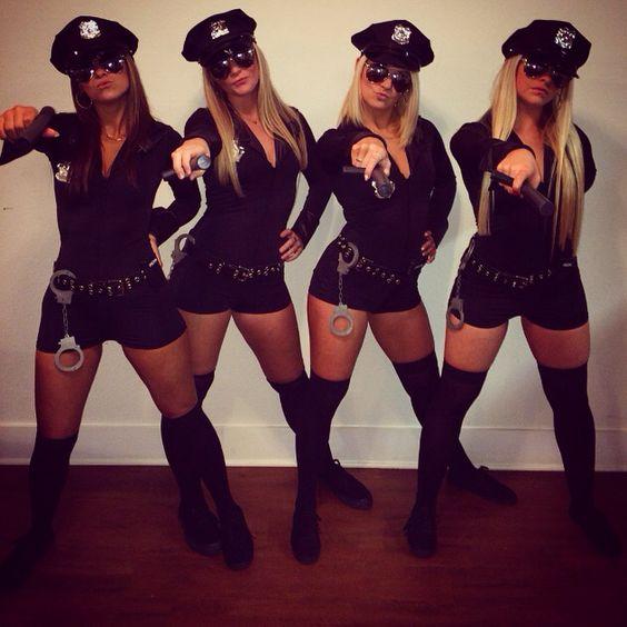 Cop Halloween costumes