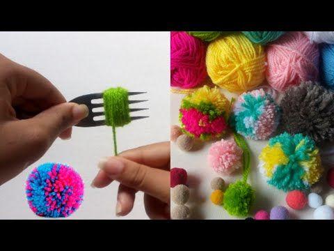 Casaco Pom Pom Em Crochê | Receita rápida e simples de fazer