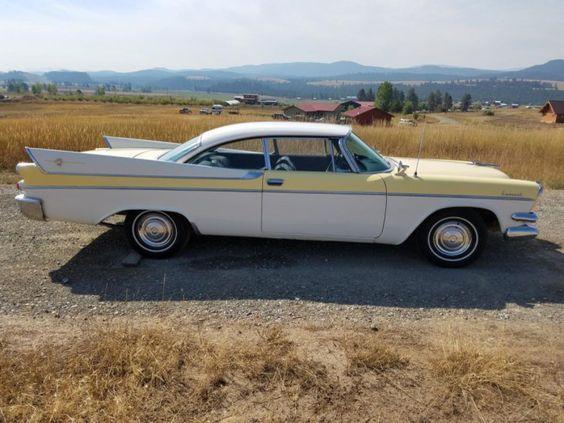 1957 Dodge Coronet Dodge Coronet Hardtop Coupe. Huge Fins!!