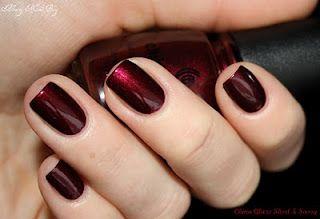 China Glaze Short and Sassy: My fave nail polish, at the moment.