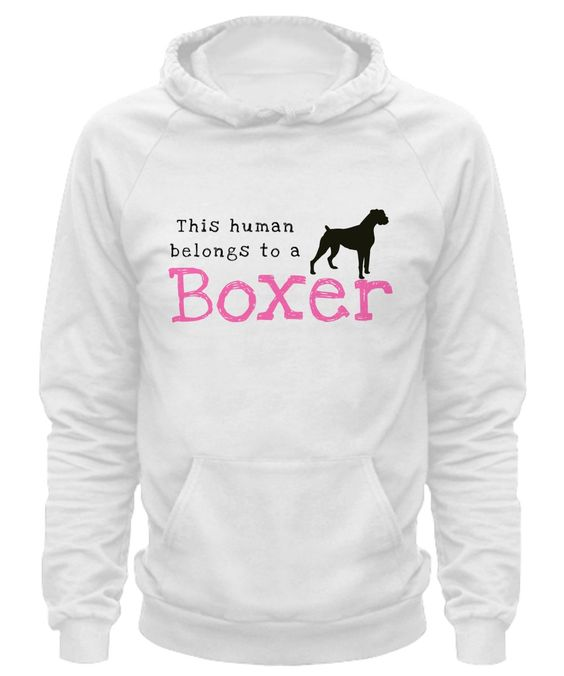 This Human Belongs to a Boxer human-boxer-hoodie