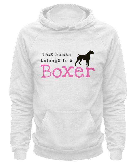 This Human Belongs to a Boxer human-boxer-hoodie