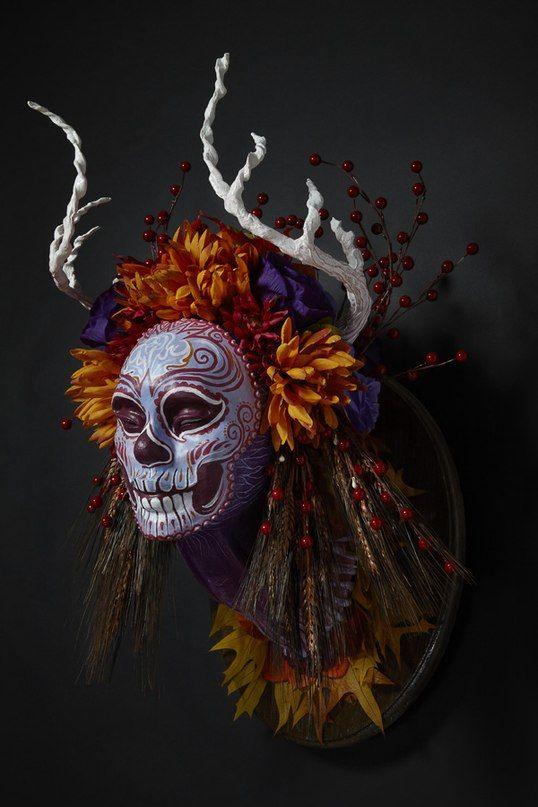 halloween mask, dead interier mask