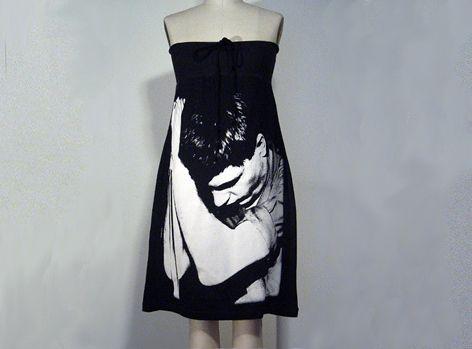 IAN CURTIS Joy Division Photo PRINTED Dress!! von FashionRocks auf DaWanda.com