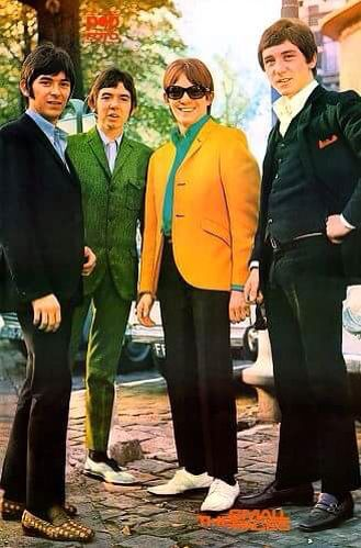Small Faces: Founded in 1965 by Steve Marriott, Ronnie Lane, Kenney Jones, and Jimmy Winston  -  although by 1966, Winston was replaced by Ian McLagan as the band's keyboardist.