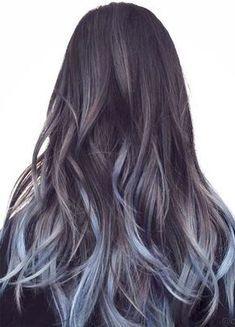Hair Color Trends Summer 2020.Mint The Spring Summer 2020 Colour Trend Denim Blue Hair
