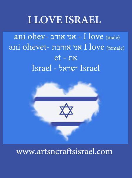 How would one say this in hebrew and in hebrew script?