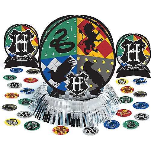 Harry Potter Table Decorating Kit 23pc Party City Harry Potter Party Supplies Harry Potter Table Harry Potter Birthday