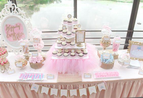We Heart Parties: Disney Princess Bridal Shower